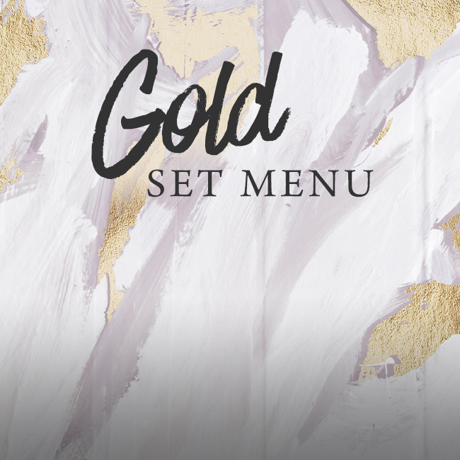 Gold set menu at The Old Bull & Bush