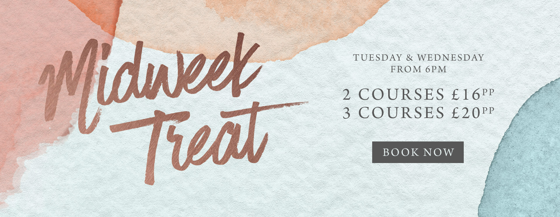 Midweek treat at The Old Bull & Bush - Book now